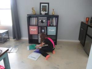 Homeschool Curriculum Bookcase